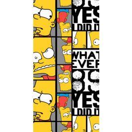 Jerry Fabrics osuška Simpsons Bart 89 70x140 cm