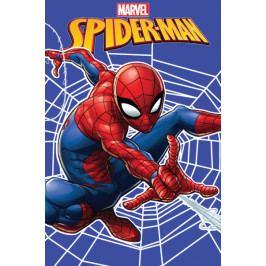Jerry Fabrics dětská fleecová deka Spiderman web 100x150 cm