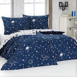 Matějovský povlečení bavlna Galaxy 140x200+70x90 cm
