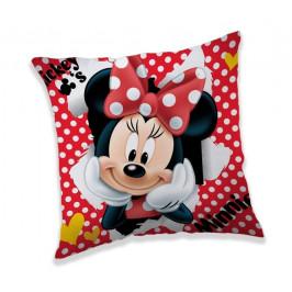 Jerry Fabrics polštářek Minnie dots 02 40x40 cm