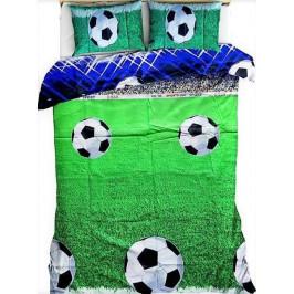 Bavlněné povlečení Fotbal míč 140x200+70x90 cm