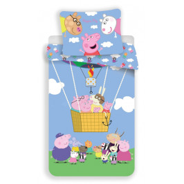Jerry Fabrics povlečení bavlna Peppa Pig 001 140x200+70x90 cm