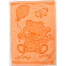 Dětský ručník Bear orange 30x50 cm