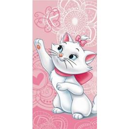 Jerry Fabrics osuška Marie Cat butterfly 70x140 cm