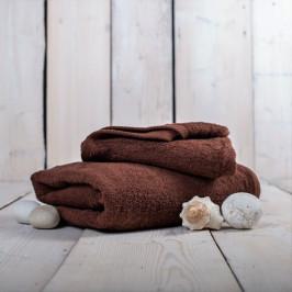 Jahu ručník froté Unica hnědý 50x100 cm