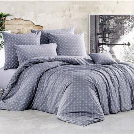 BedTex povlečení bavlna Gudrun Šedé 140x200+70x90 cm