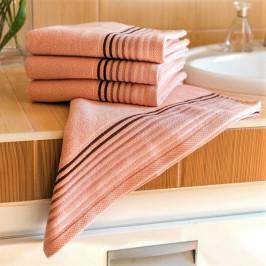 Polášek ručník froté Katka salmon 50x100 cm