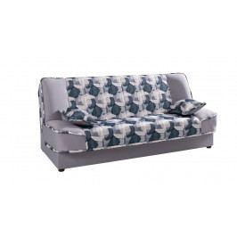 MEBLINE Klasický rozkládací gauč FAUNA print