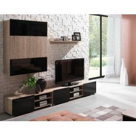 MEBLINE Levný nábytek do obývacího pokoje GORDIA 3 sonoma