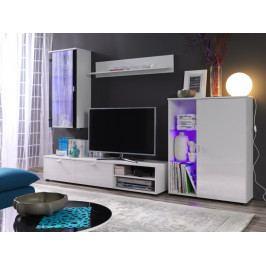 MEBLINE Moderní obývací stěna LOCO 3