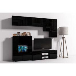 MEBLINE Trendy obývací stěna ONYX 10B