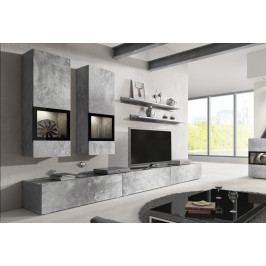 MEBLINE Moderní obývací stěna BAROS