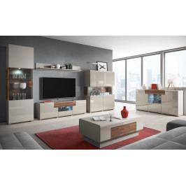 MEBLINE Moderní obývací stěna TOLEDO 1
