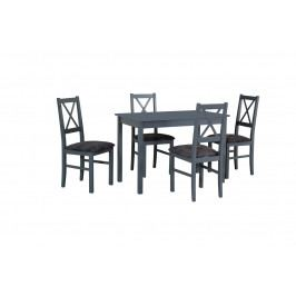 MEBLINE Stůl MAX 2 + Židle NILO 10 (4ks.) DX22