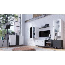 MEBLINE Obývací stěna MIKI 2