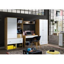 MEBLINE Elegantní nábytek do dětského / studentského pokoje MIX 2