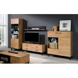 MEBLINE Systémový nábytek JOHN 4