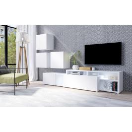 MEBLINE Systémový nábytek VENTO 1 Bílý