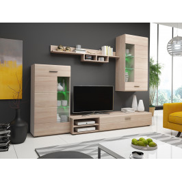 MEBLINE Nábytek do obývacího pokoje STORM 2 Sonoma / Sonoma