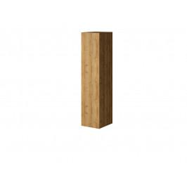 MEBLINE Závěsná skříň vertikální VEN07 VENTO H Dub Grandson