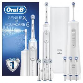 Oral-B Aquacare 6 + Genius X