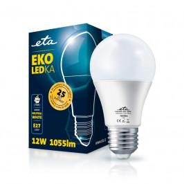 ETA EKO LEDka klasik 12W, E27, neutrální bílá (A60W12NW)