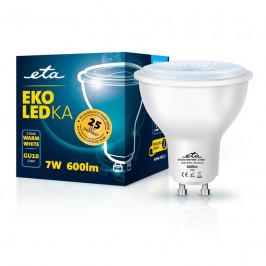 ETA EKO LEDka bodová 7W, GU10, teplá bílá (GU10W7WW)