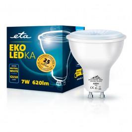 ETA EKO LEDka bodová 7W, GU10, neutrální bílá (GU10W7NW)