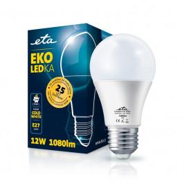 ETA EKO LEDka klasik 12W, E27, studená bílá (A60W12CW)