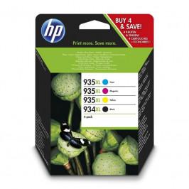HP 934XL/935XL, 825/1000 stran, CMYK (X4E14AE)