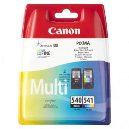 Canon PG-540 / CL-541 - originální černá/červená/modrá/žlutá (5225B006)