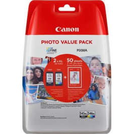 Canon PG-545XL/CL-546XL, 400/300 stran, Photo Value Pack, CMYK, (8286B006)