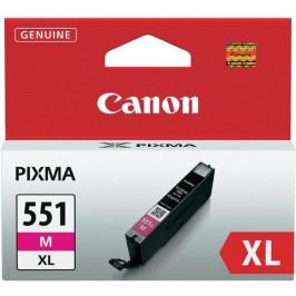 Canon CLI-551XL M, 660 stran - originální červená (6445B001)