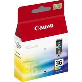 Canon CLI-36C, 249 stran červená/modrá/žlutá (1511B001)