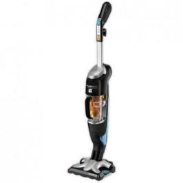 Rowenta Clean&Steam RY7535WH černý/stříbrný
