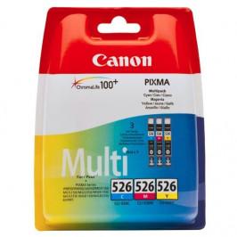 Canon CLI-526 C/M/Y, 340 stran - originální červená/modrá/žlutá (4541B006)