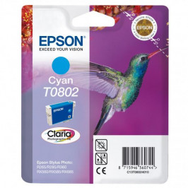 Epson T0802, 7,4ml  modrá (C13T08024011)
