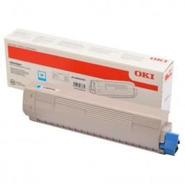 OKI C833/843, 10000 stran modrý (46443103)