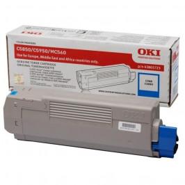 OKI C5850/5950/MC560, 6000 stran modrý (43865723)