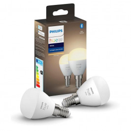 Philips Hue Bluetooth, 5,7W, E14, White, 2ks (8719514266902)