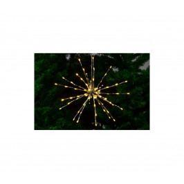 OEM D33215 Meteorický déšť teplá bílá, 40 cm, 80 LED