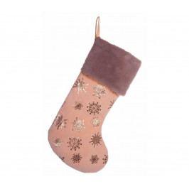   Závěsná ponožka - růžová   18000337