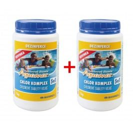 Marimex | Marimex Chlor Komplex 5v1 1,0kg - sada 2 ks | 19900030