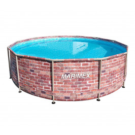 Marimex | Bazén Florida 3,66x0,99 m bez filtrace - motiv CIHLA | 10340243