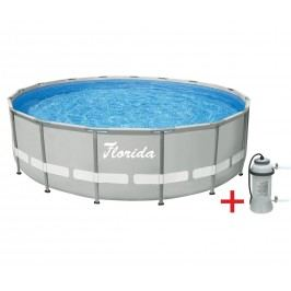 Marimex | Bazén Florida Premium Grey 4,88x1,22 m s kartušovou filtrací | 10340032