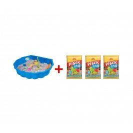 Marimex | Pískoviště bazének/mušle (1 ks) + písek | 19900024