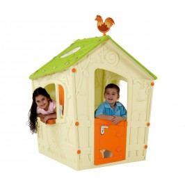 Marimex Domek MAGIC Playhouse béžová zelená