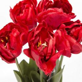Tulipán MAXIMA řezaný umělý červený