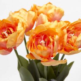 Tulipán MAXIMA řezaný umělý oranžový