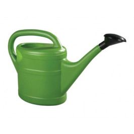 Konev 5l plastová zelená s růžicí